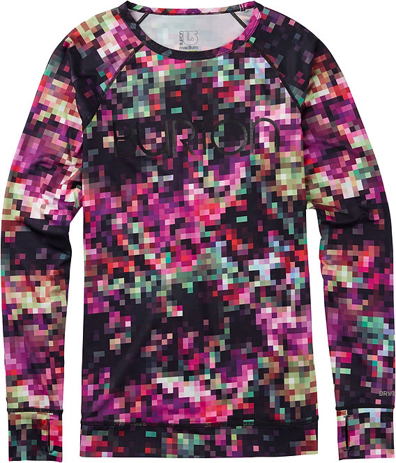 BURTON [バートン] LIGHTWEIGHT CREW/Floral Pixel /Women's 女性 レイヤー