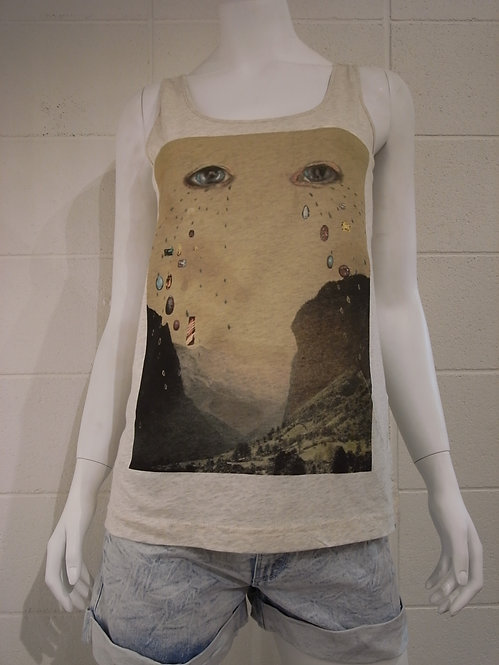 INSIGHT51 [インサイト] WOMENS /LITTLE GEM TANK / OATMEAL MARLE