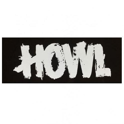 HOWL [ハウル] ロゴ シール ステッカー Lサイズ