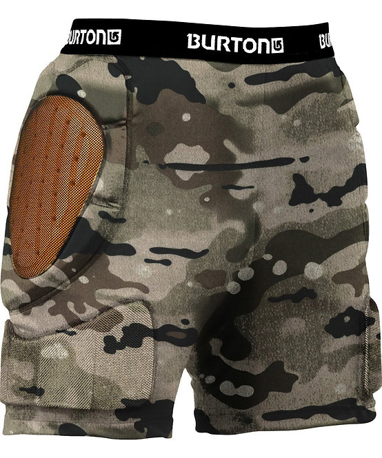 BURTON バートン MENS TOTAL IMPACT SHORT / CAMO スノーボード