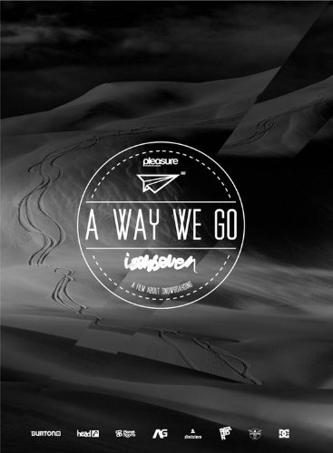 A WAY WE GO (ISENSEVEN) [DVD] スノーボード