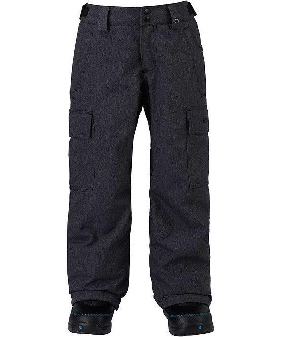 BURTON バートン 1718モデル Boys' Exile Cargo Pant (デニム) ボーイズ キッズ 子供 ウェア