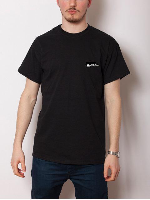 Malzeit... マルツァイト 6.0オンス ウルトラコットン 刺繍ロゴ Tシャツ