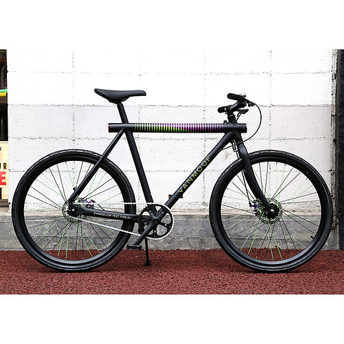 VANMOOF by EVANGELION EVA-01 Single Speed Model (EVA-01 MODEL) バンムーフ