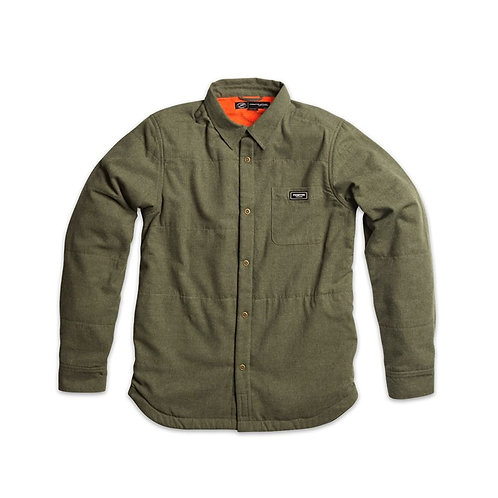 Primitive Apparel[プリミティブ] SHERPA QUILT SHIRT-JACKET / OLIVE
