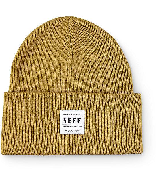 NEFF [ネフ] LAWRENCE BEANIE / CUMIN ビーニー 帽子 ニット