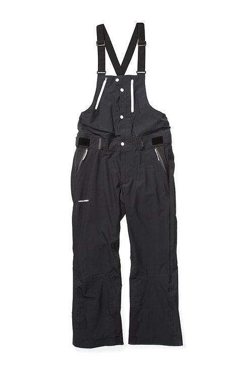 HOLDEN M's Highland Bib Black ホールデン 18-19 モデル メンズ ウェア パンツ ビブ