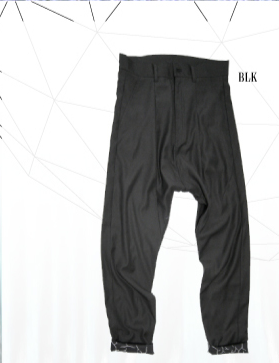 THE TEST[ザテスト] CROPPED PANTS / BLACK