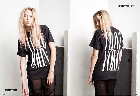 CTRL CLOTHING [コントロールクロージング] LOVERS TSHIRT /BLACK