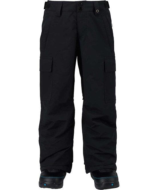 BURTON バートン 1718モデル Boys' Exile Cargo Pant (ブラック) ボーイズ キッズ 子供 ウェア