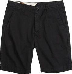 VOLCOM [ボルコム]FACETED SHORTS / BLACK / ショートパンツ メンズ