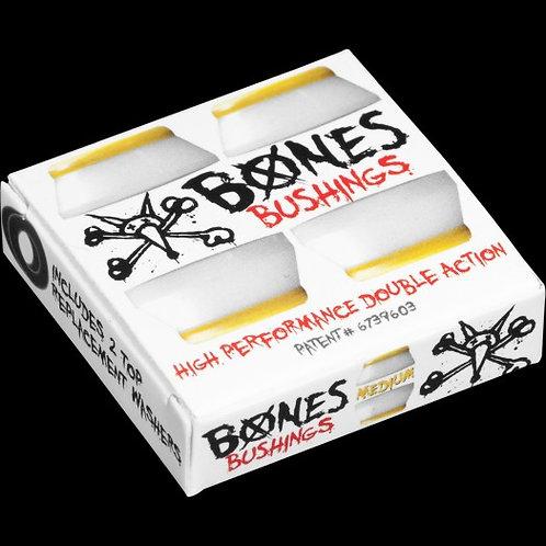 BONES [ ボーンズ ] MEDIUM WHITE(トラック2台分)【91A】 ハードコアブッシュ ミディアム ホワイト スケートボード スケボー sk8