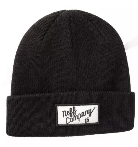 NEFF [ネフ] CO BEANIE / BLACK ビーニー 帽子 ニット