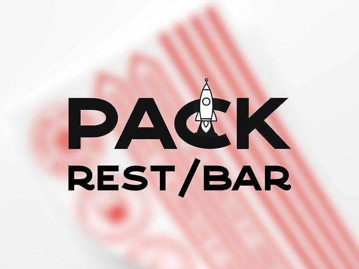 Pack Vinilos Covid-19 Bares y Restaurantes