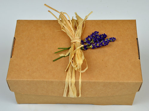 Lavender Gift Box- Hand cream + Bath Bomb or Soap
