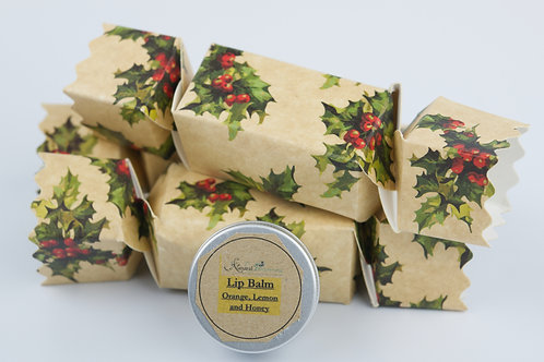 Lip Balm cracker gift box