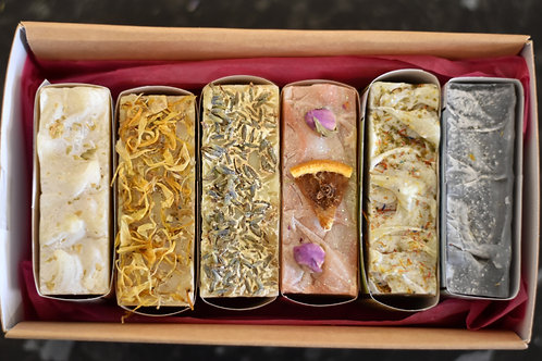 Luxury 6 Soap Selection Gift Box