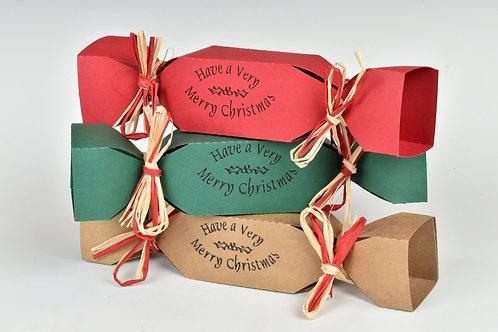 Bath Melts Christmas Cracker Gift Box
