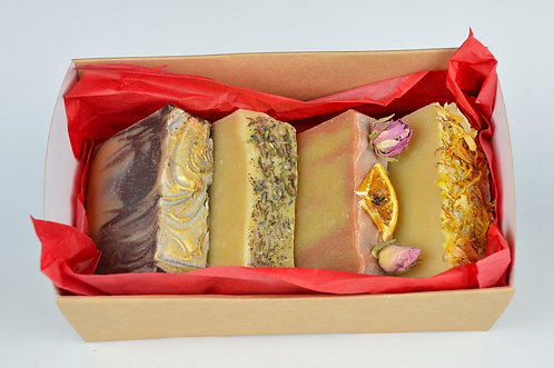 Luxury 4 Soap Selection Gift Box