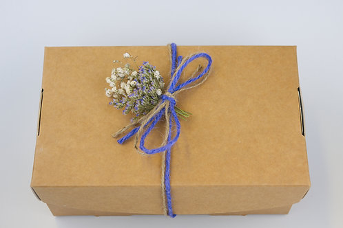Small lidded gift box- EMPTY