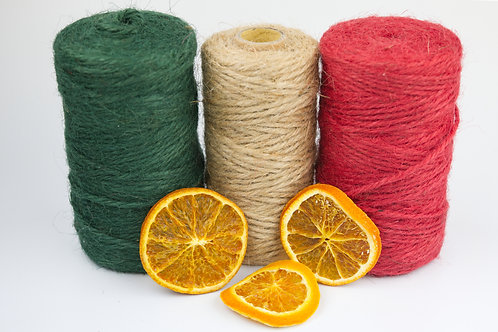 Natural Jute twine/string perfect for christmas wrapping