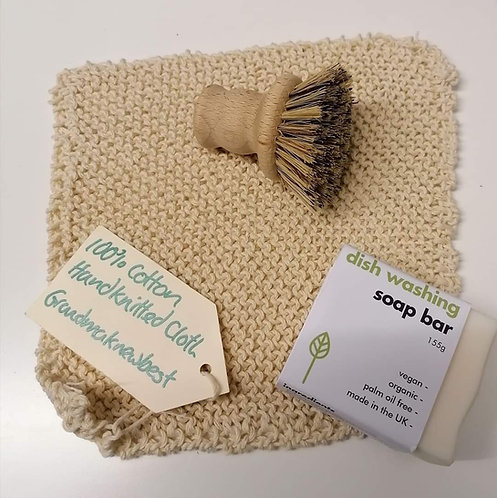 Cotton Knitted Dish Cloth