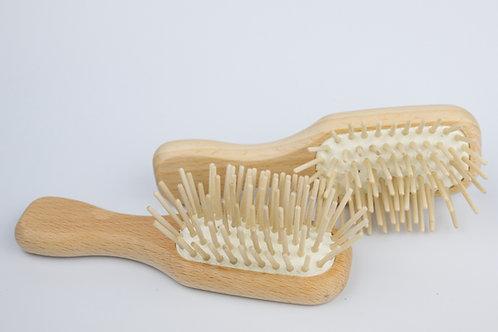 Mini Wooden Plastic-Free Hairbrush (FSC 100%)