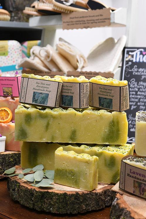 Tea Tree & Eucalyptus Soap