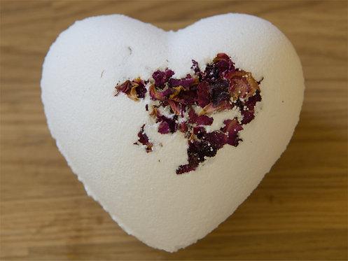 Rose Garden Heart Bath Bomb