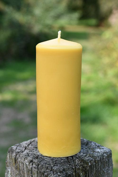 Large Church/pillar Beeswax Candle