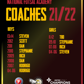Introducing your 2021/22 Coaches