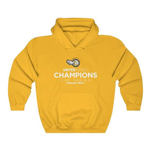 Hornets Futsal Unisex CCS Orlando '21 Limited Edition Adult Hooded Sweatshirt
