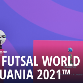 Futsal debut for Lithuania as they host.