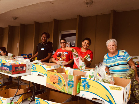 Mobile Food Pantry a Success