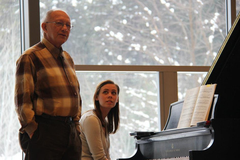 2014 Master Class with Gilbert Kalish at Icicle Creek Center for the Arts, Leavenworth, WA