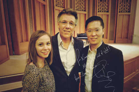 Masterclass with Thomas Hampson, Music Academy of the West, 2016