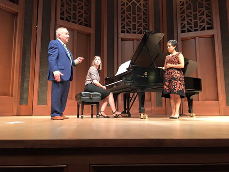 Masterclass with Martin Katz, Music Academy of the West 2016