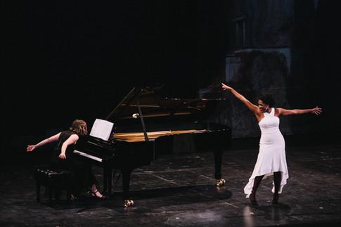 with J'nai Bridges, Civic Opera House, Lyric Opera of Chicago Photo by Jaclyn Simpson