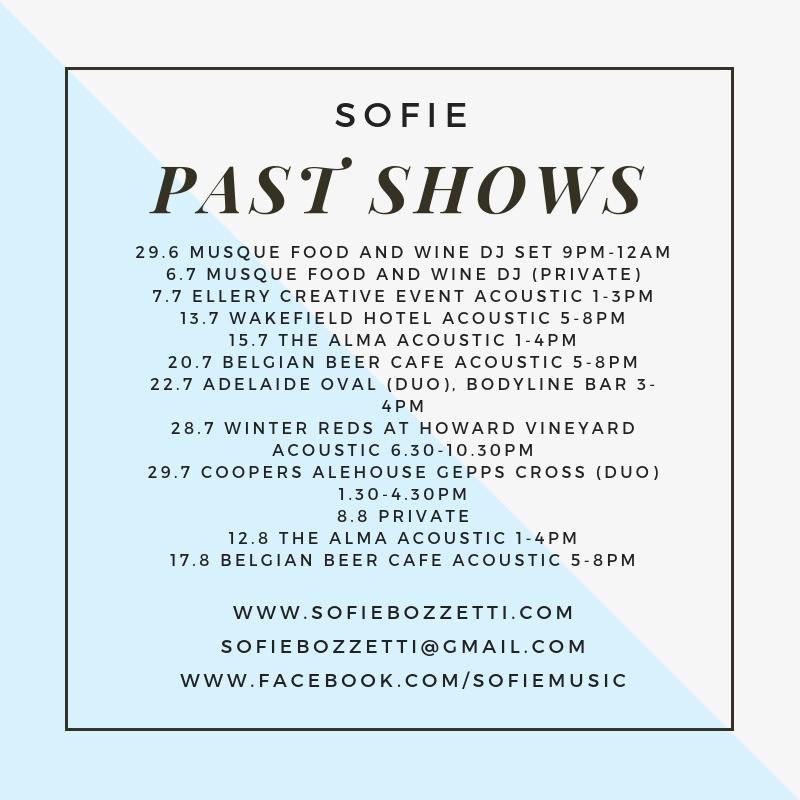 Past Shows