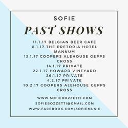 Past Shows 2017