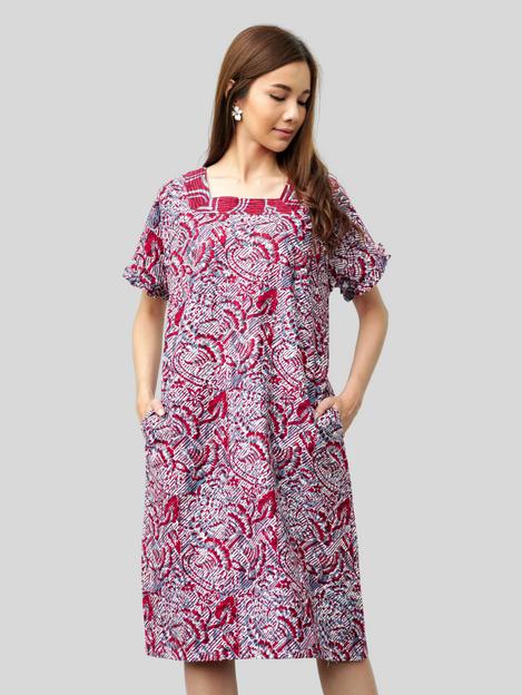 Square Neck Dress