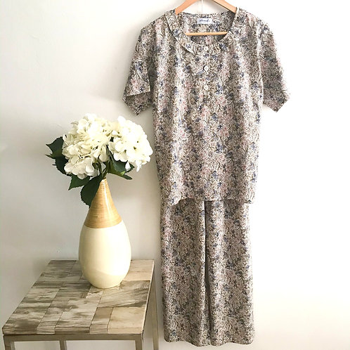 Anmako Classic Half Sleeve & Long Pants Pyjamas