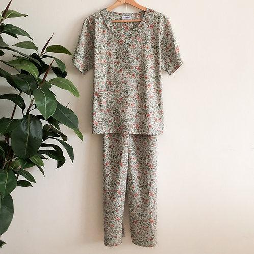 Half Sleeve & Long Pants Pyjamas
