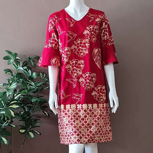 Flare Sleeve Dress - Size M