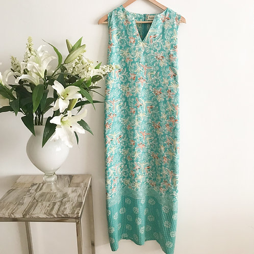 Sleeveless Maxi Dress - Size L