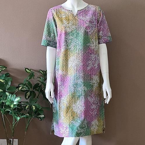 Classic Knee Length Dress - Size M