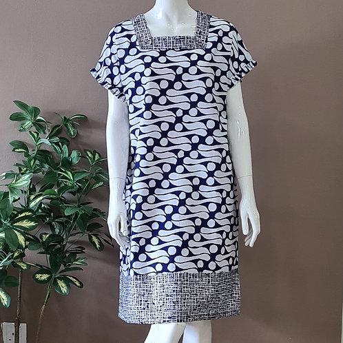 Square Neck Dress - Size M