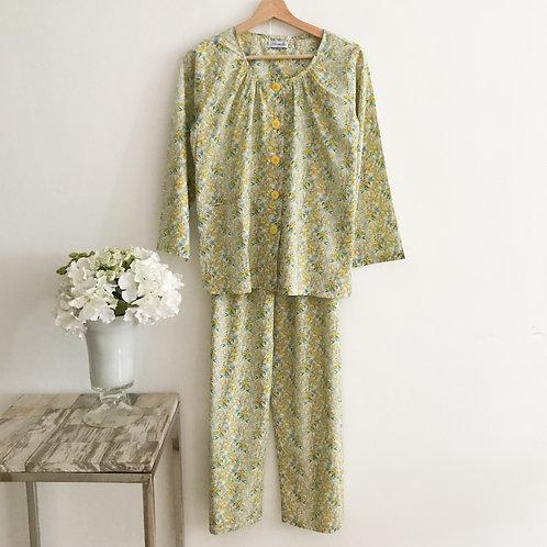 Long Sleeve & Long Pants Pyjamas - Size S