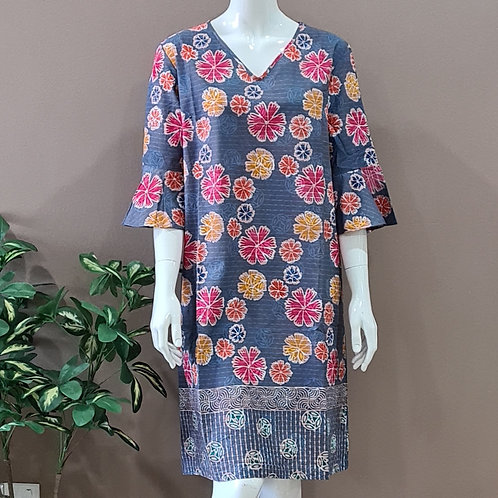 Flare Sleeve Dress - Size XL
