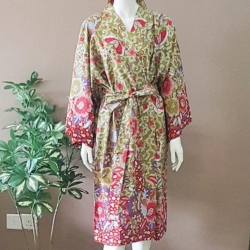 Batik Robe - Size L